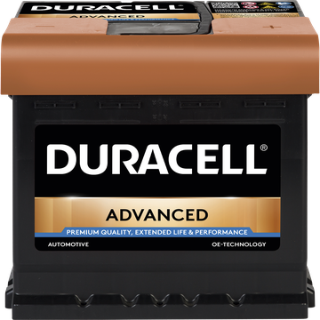 picture of the Battery duracell advanced 12 volt 44ah BDA44